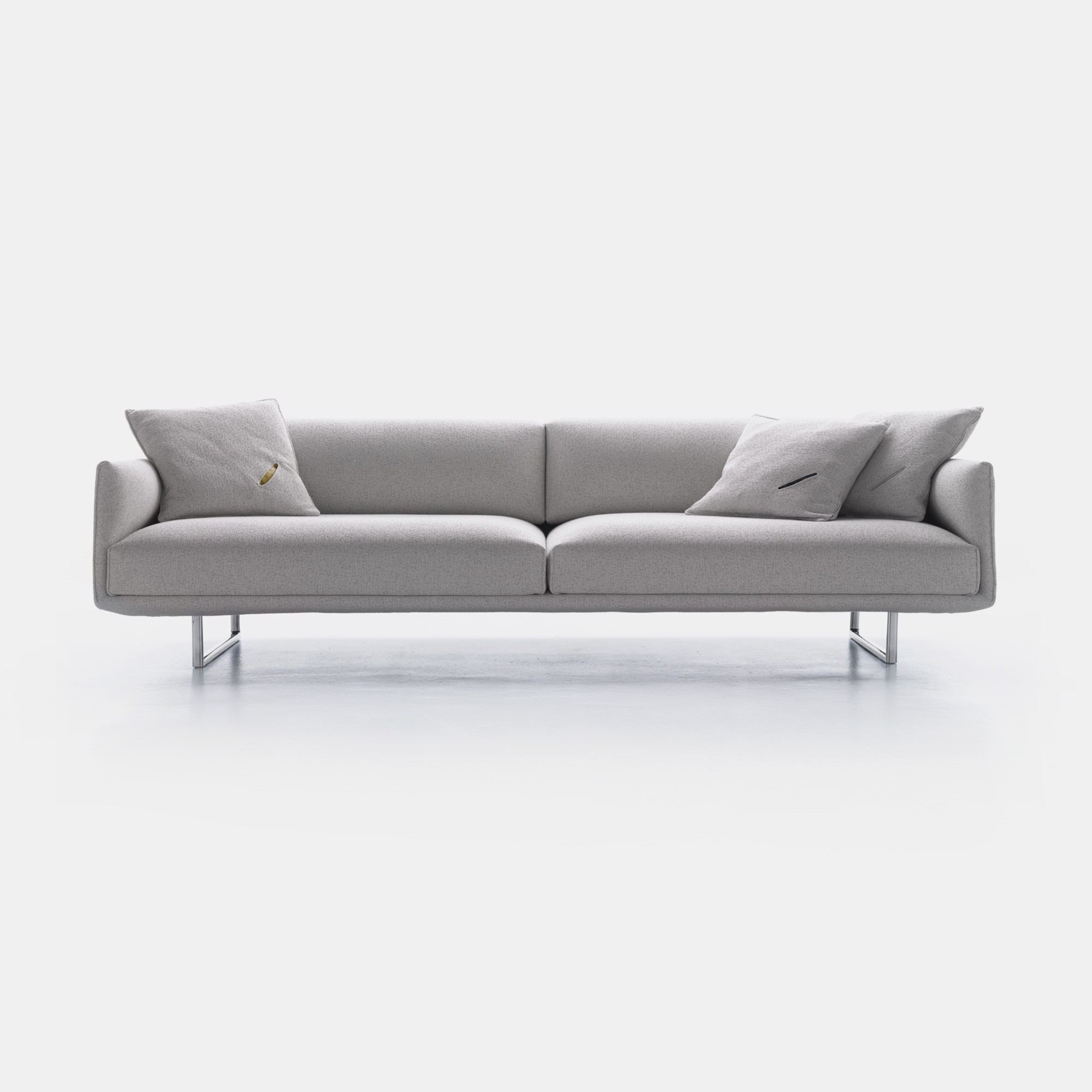 Divano Design Minimal Hara Sofa Technology With A Careful And Minimal Design Mdf Italia