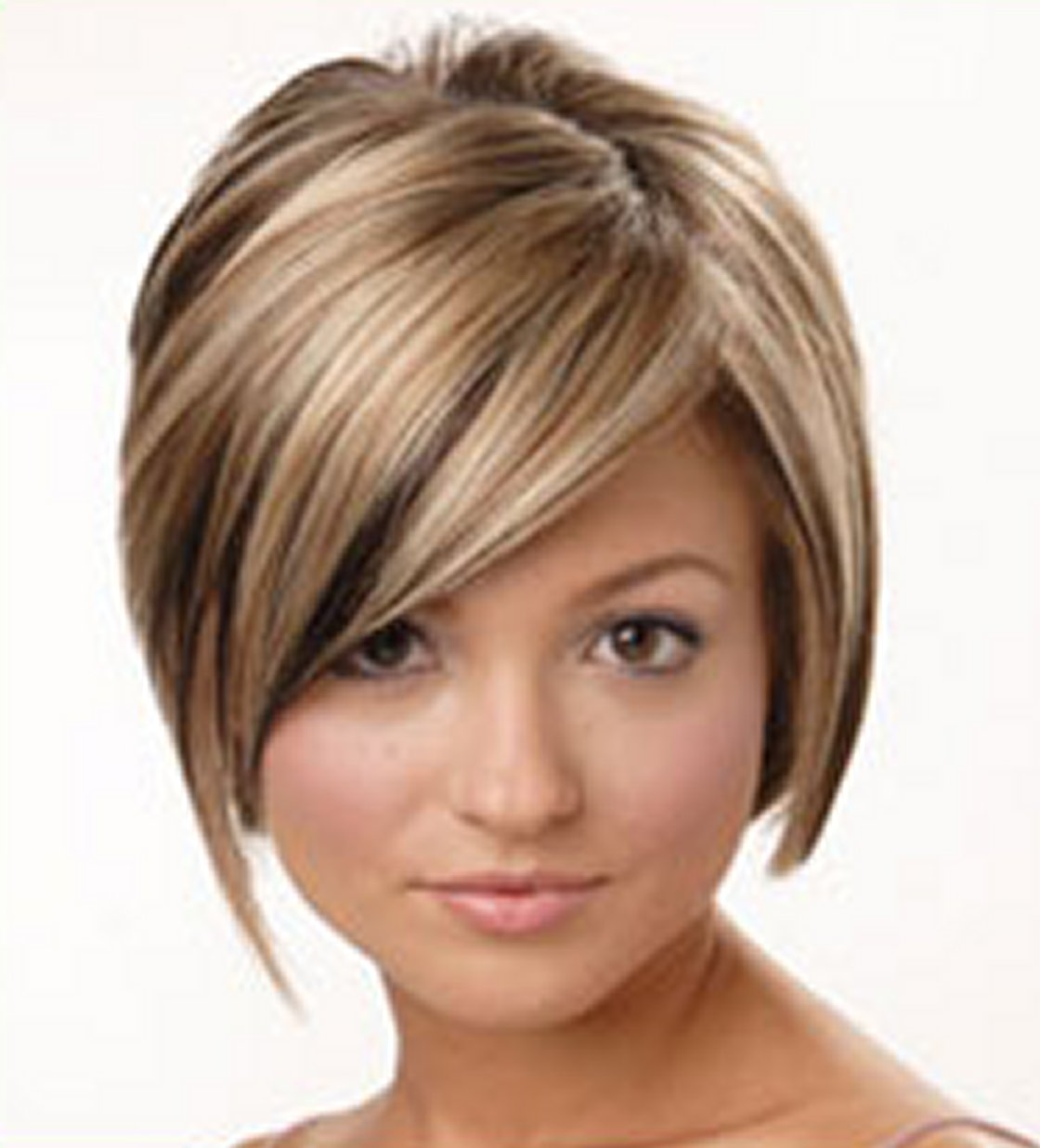 Cute Short Hairstyles with Highlights