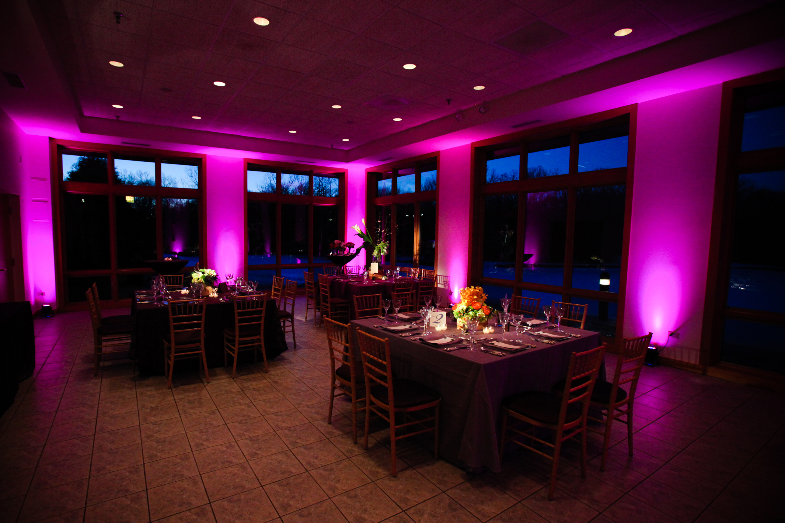 Small Floor Spotlights Wedding Lighting And Special Event Lighting For Chicago