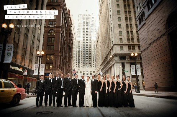 W City Center Wedding Photo