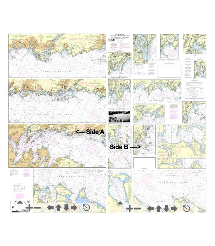 OceanGrafix NOAA Nautical Chart 12364 Long Island Sound-New Haven