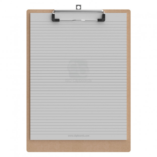 Letter Size 85 x 11 MDF Clipboard