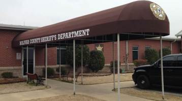 Bolivar Country Sheriff Department Entrance Awning