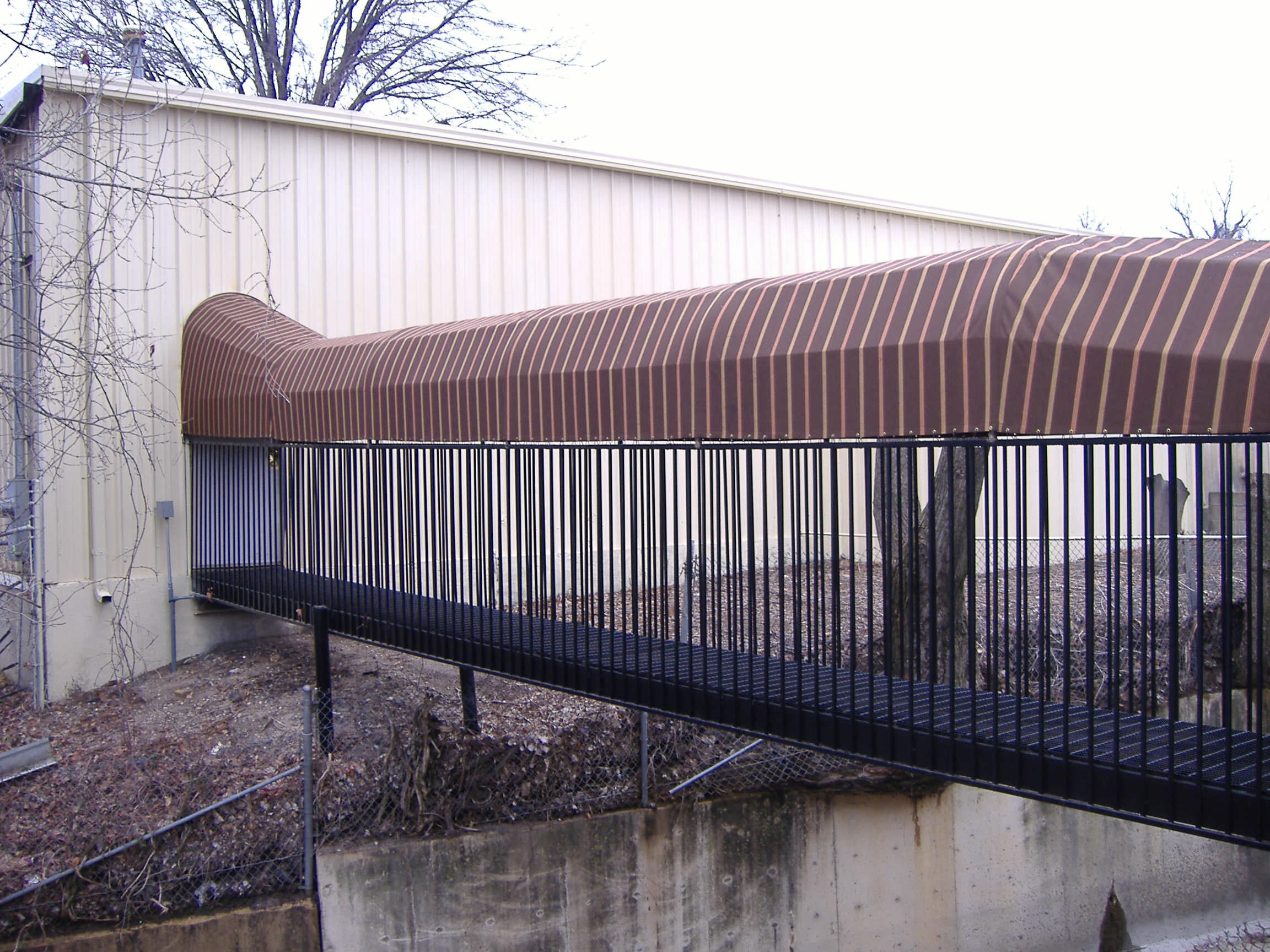 Covered Walkways In Memphis Delta Tent Amp Awning