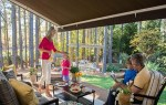 sunbrella retractable patio awning