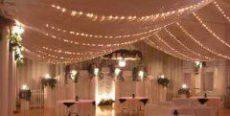 Party Rentals - wedding reception tent