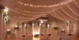 Party Rentals - wedding reception tent
