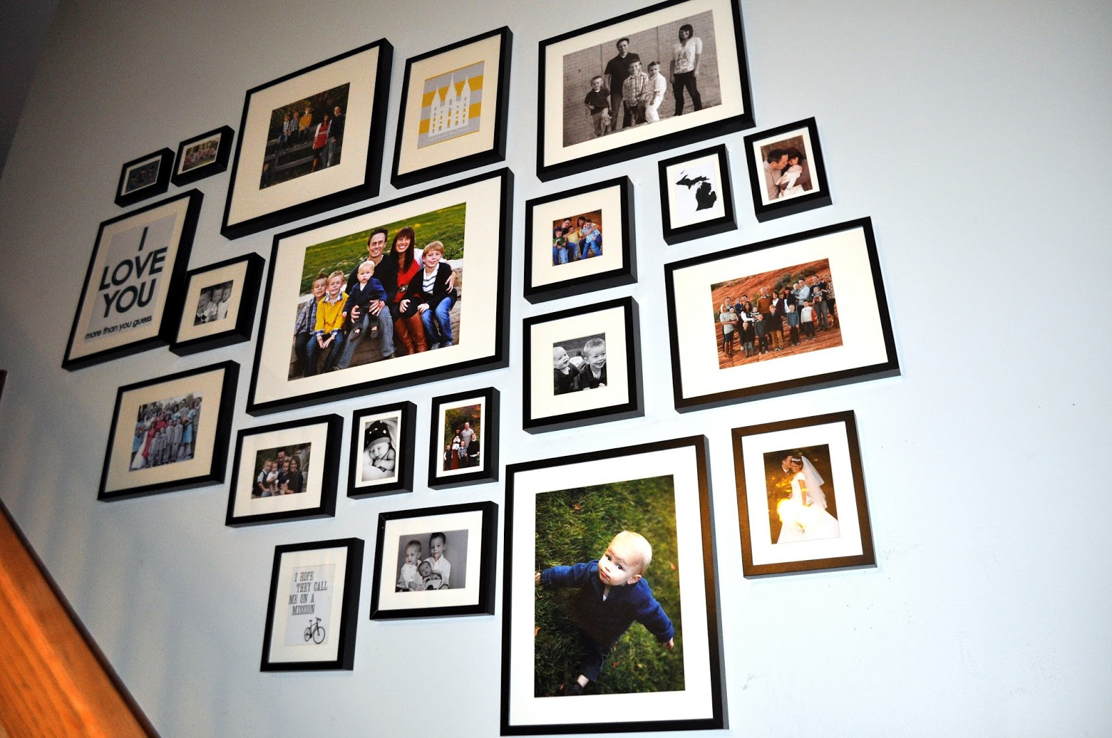 Wall Frames Vancouver Sunday Showcase Black White And Color Cohesion