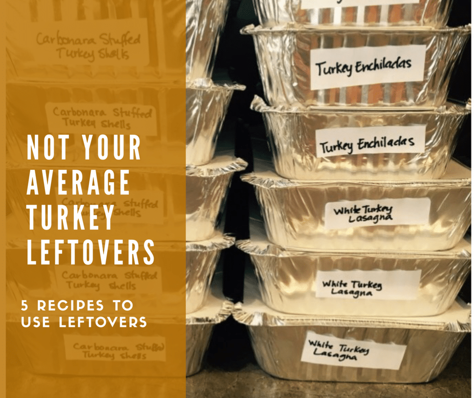 Not Your Average Turkey Leftovers