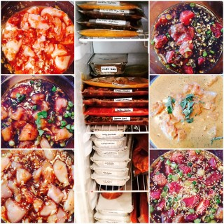 Slow cooker Prep Collage