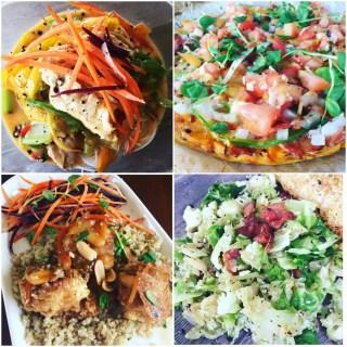 GFB Week Dinner Collage