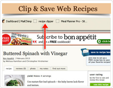 Healthy Recipes, Gluten-Free Recipes, and more Meal Planner Pro