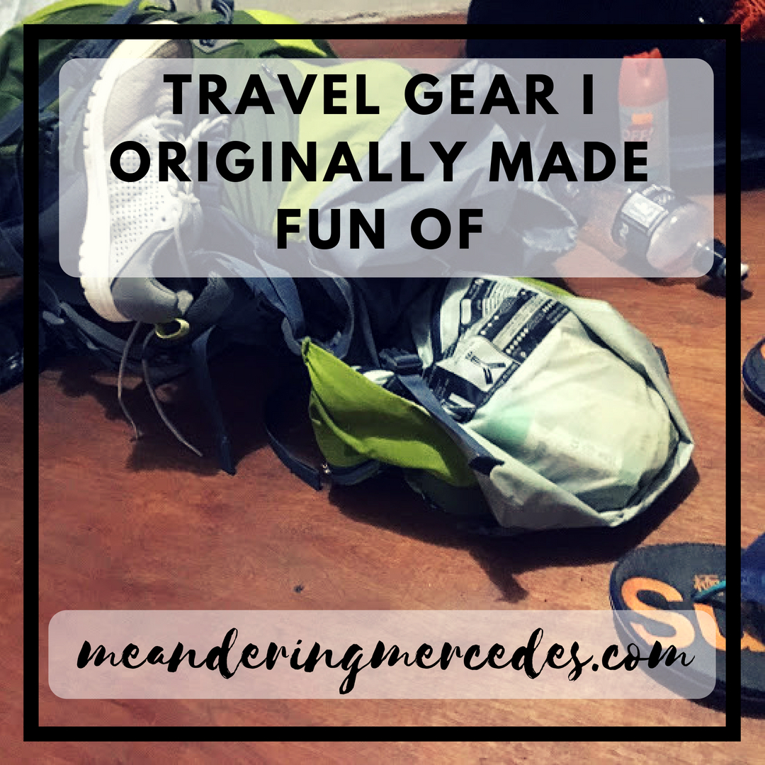 2018 Travel Gear Travel Gear I Originally Made Fun Of Meandering Mercedes
