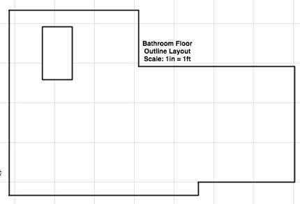 How To Floor Tile Layout Using A Drawing Application Meandering Passage