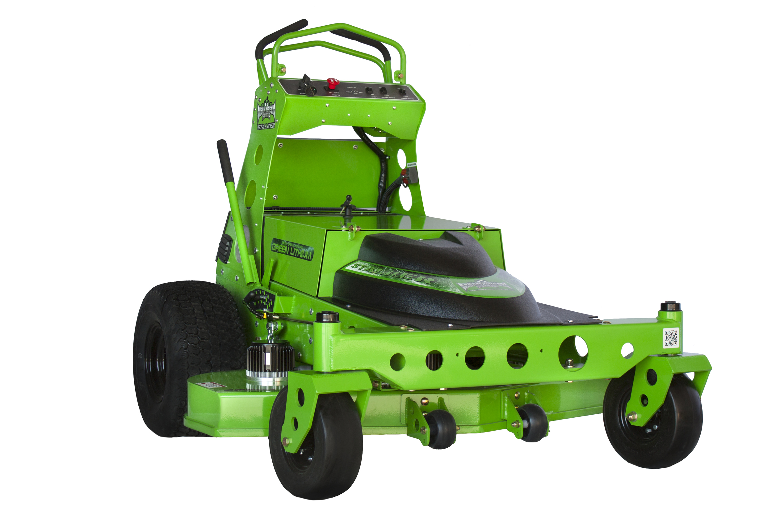 Electric Lawn Mower Sale Sk 48 Stalker Stand On Mean Green Mowers