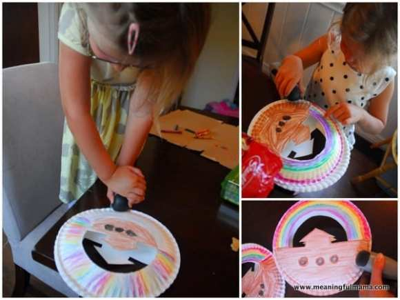 1-#noah's ark craft #teaching kids #submissiveness
