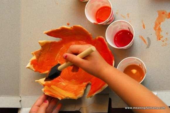 1-#leaf bowl #craft #salt dough #kids-043