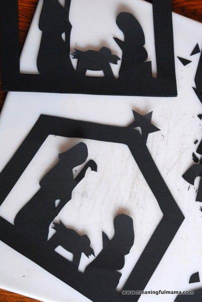 1-#nativitycraft 2 #nativty #stainedglass #Christmas #craft-015