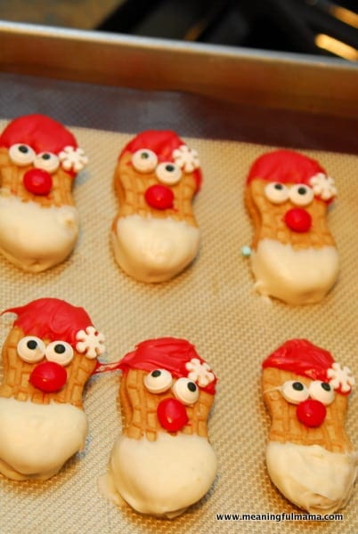1-#nutter butter #Christmas #treats #food #cookies #santa #reindeer #snowman-017