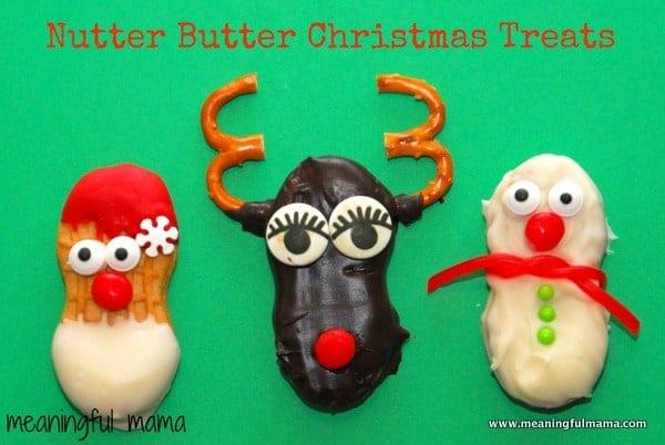 1-#nutter butter #Christmas #treats #food #cookies #santa #reindeer #snowman-027