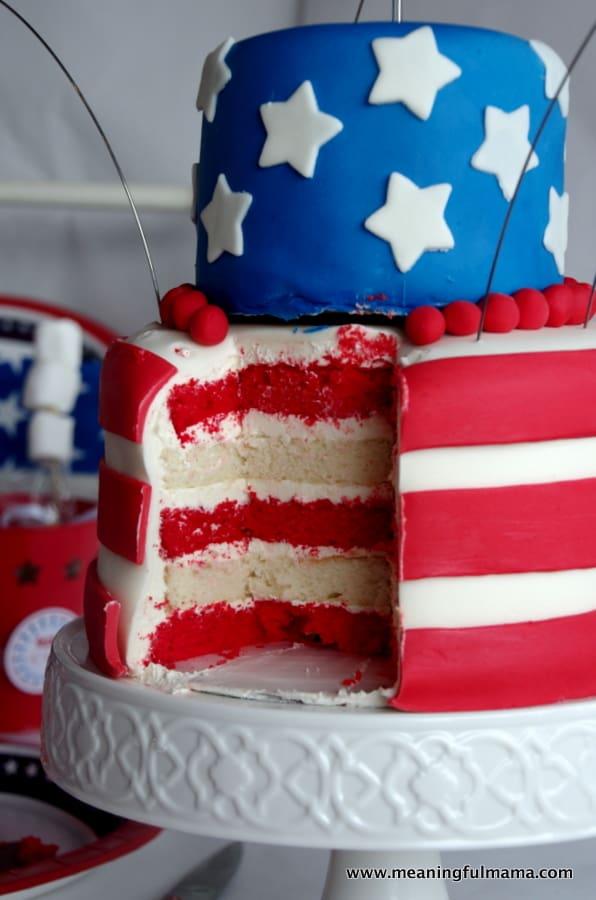 fourth of july cake flag Jul 4, 2014, 6-035