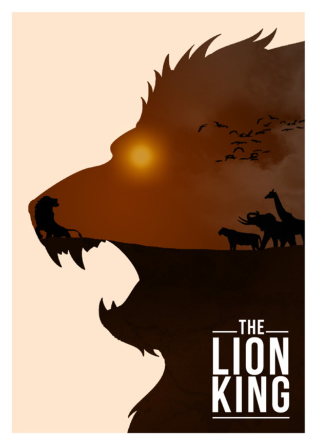 the lion king movie poster artists