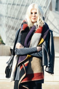 Favlook  Lookfav Street Sass Focus: scarf styling for ...