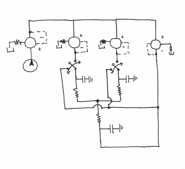 pneumatic circuit diagram problems