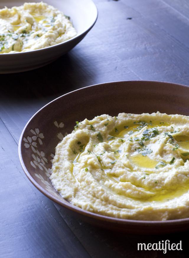Paleo Artichokes and Hummus Dip