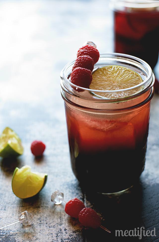 Paleo Berry Berry Fizz