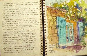 France Sketchbook 1 #1