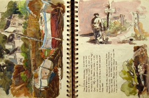 France Sketchbook 2 #6
