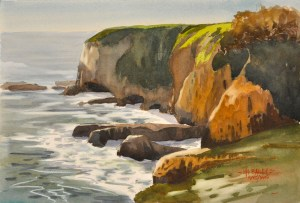 Headland and Caves