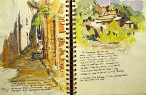 Spain Sketchbook #1