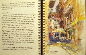 Spain Sketchbook #7