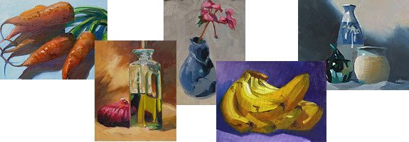 Oil Paintings: Still Life
