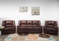 Комплект кожаной мягкой мебели Милан