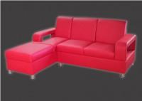 Кожаный угловой диван Тайм