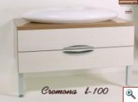 Тумба для ванной Cremona Т-100 с умывальником
