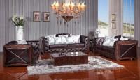 Комплект кожаной мягкой мебели Royal (3+2+1)