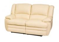 Кожаный мягкий диван Верона двух-местный