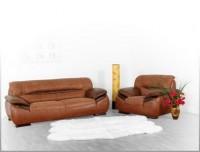 Комплект кожаной мягкой мебели 2403DJ