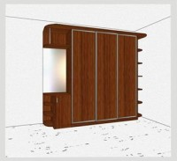 Стандартный шкаф-купе 3-х дверный шк361пк л/п