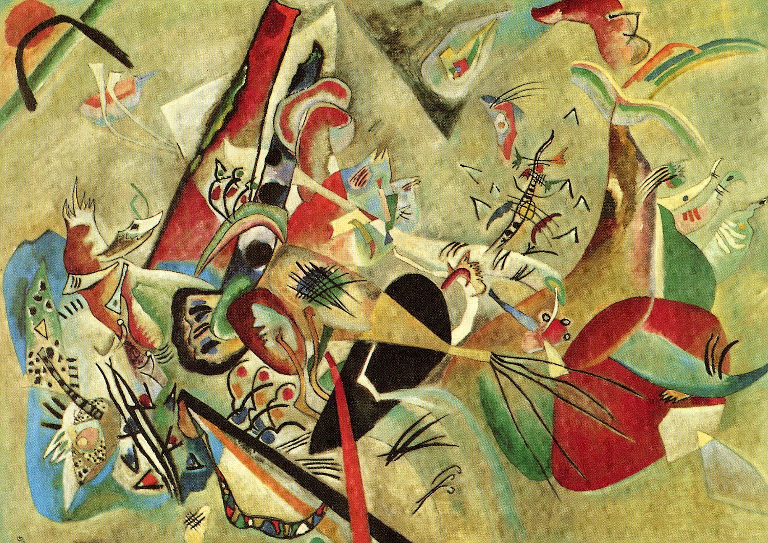 Cuadros Wassily Kandinsky Kandinsky Lunivers En Couleurs Kandinsky The World In Color