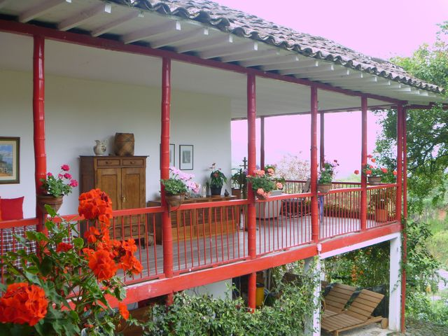The main house, at Hacienda Venecia. 
