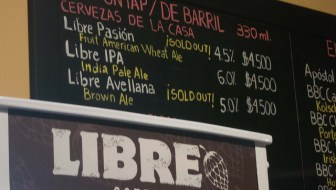 Libre Beers on Tap