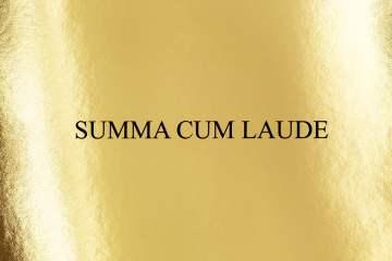 Domenico Crisci presenta su sello Summa Cum Laude