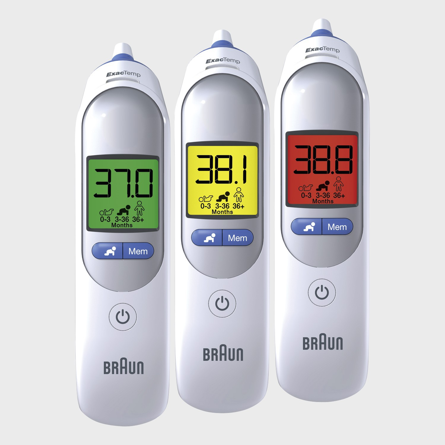 Elektrisches Thermometer Braun Thermoscan 7 Ear Thermometer