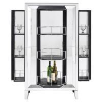 Amia Mirrored Bar Cabinet | El Dorado Furniture