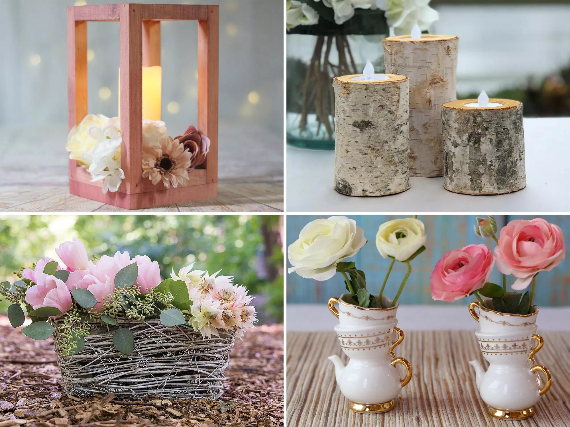 34 Beautiful And Affordable Bridal Shower Centerpieces